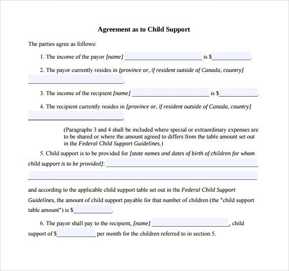 Child Support Agreement Template Check More At Https Nationalgriefawarenessday Com 13355 Child Support Agreemen Custody Agreement Child Support Child Custody