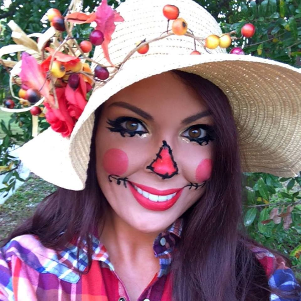 DIY Scarecrow Makeup #Halloween #costume | Life is a dress up ...