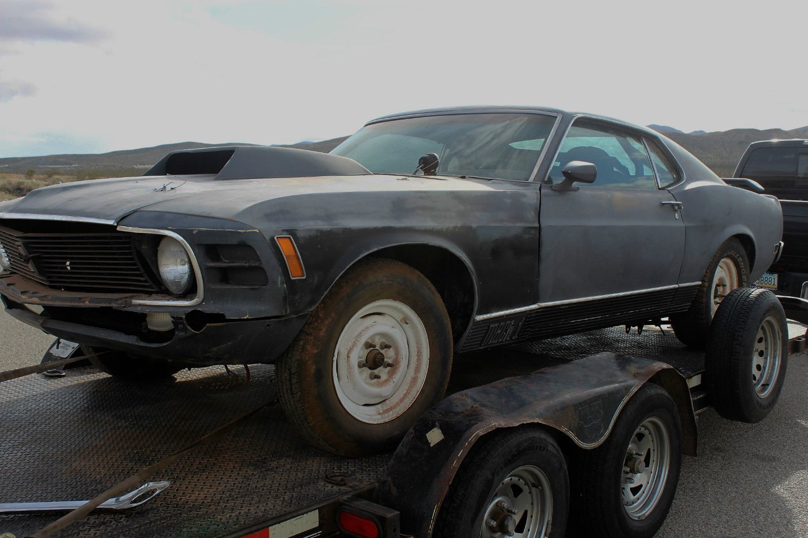 1970 Ford Mustang Mach 1 California Desert car | Salvage cars for ...