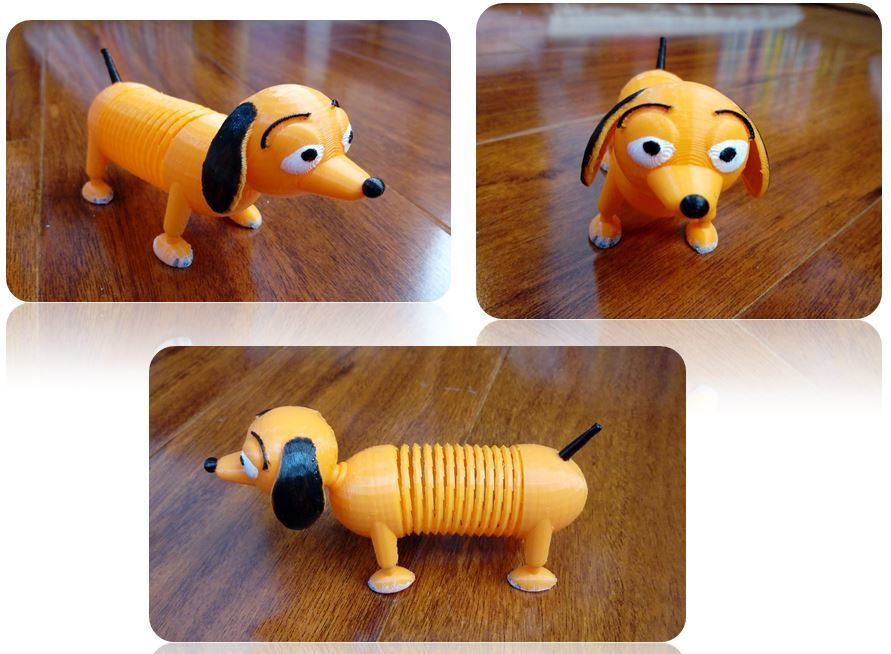 Slinky Dog By Justinsdk Toys Wooden Toys Dogs