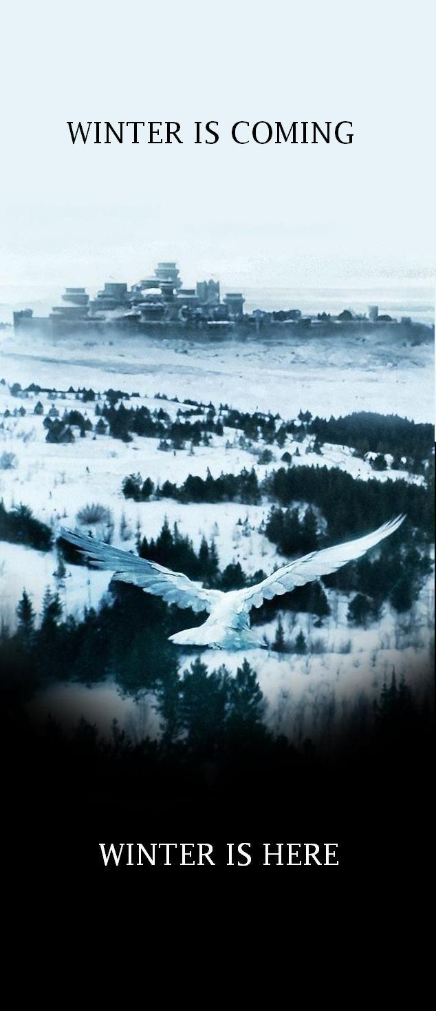 Winter Is Coming Winter Is Here Trono Di Spade Sfondi Iphone Sfondi