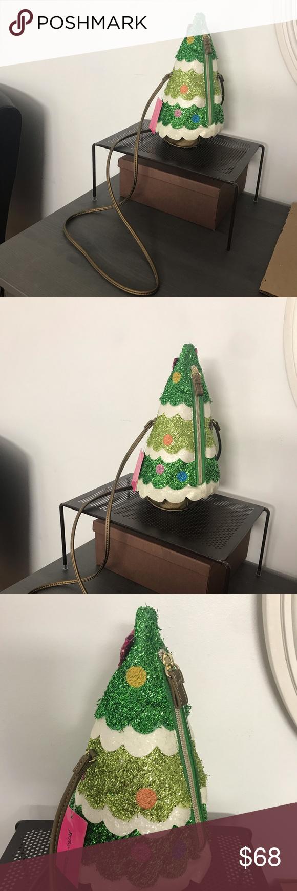 Betsey Johnson Lightup Christmas Tree NWT Betsey johnson