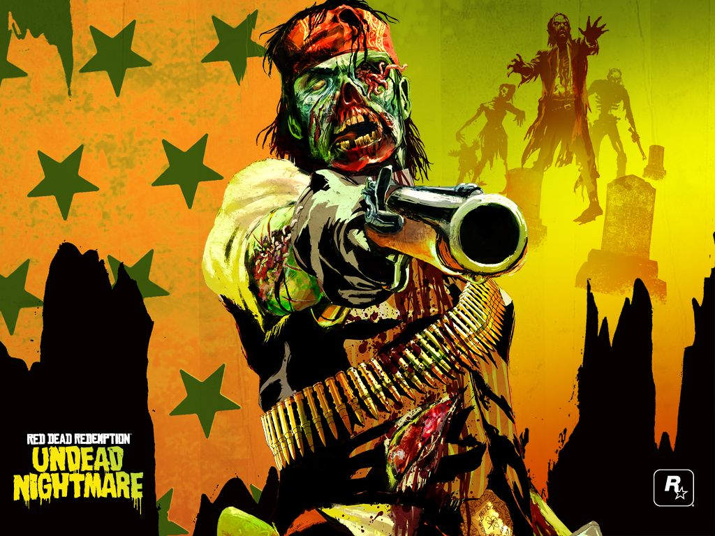 Red Dead Redemption Undead Nightmare Hd Desktop Wallpaper S