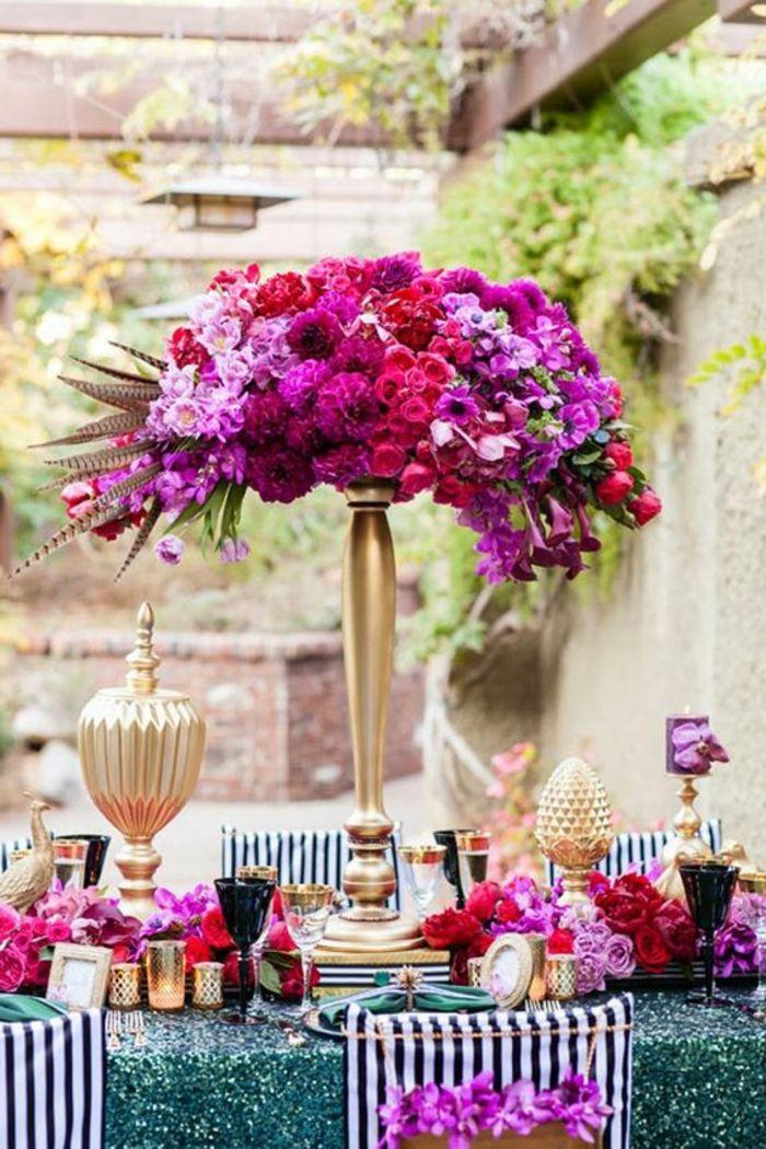 1001 Ideen Wie Sie Eine Elegante Tischdeko Selber Machen Pinterest