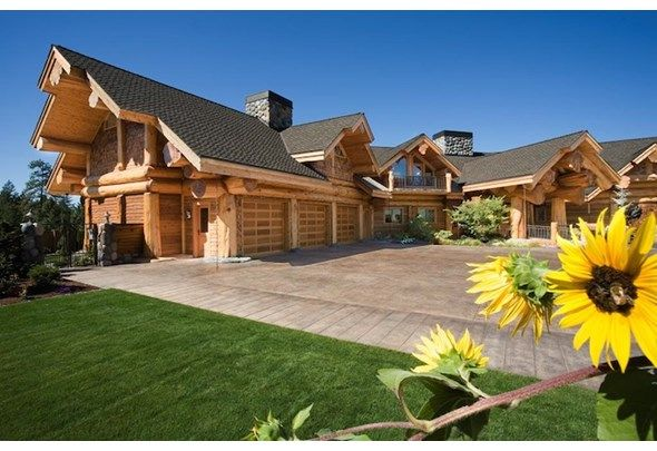 Timber Kings Most Spectacular Homes Log Homes Log Cabin Homes Log Home Living
