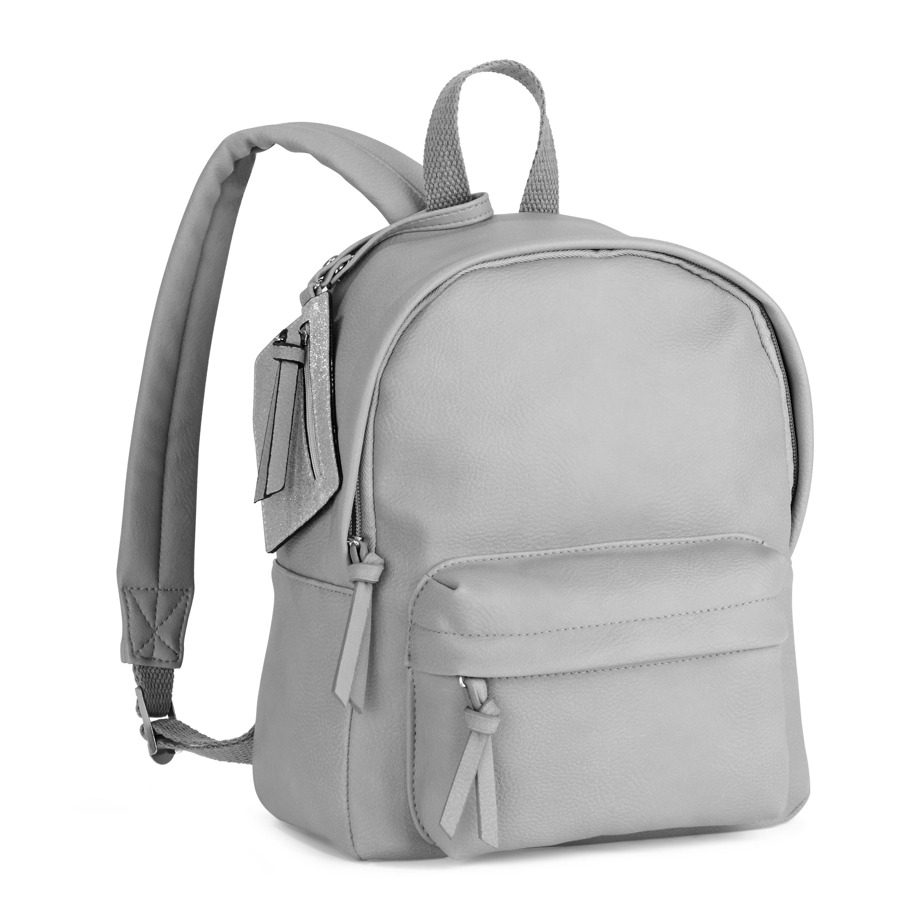 d0db51c9837d No Boundaries Grey Dome Mini Backpack - Walmart.com