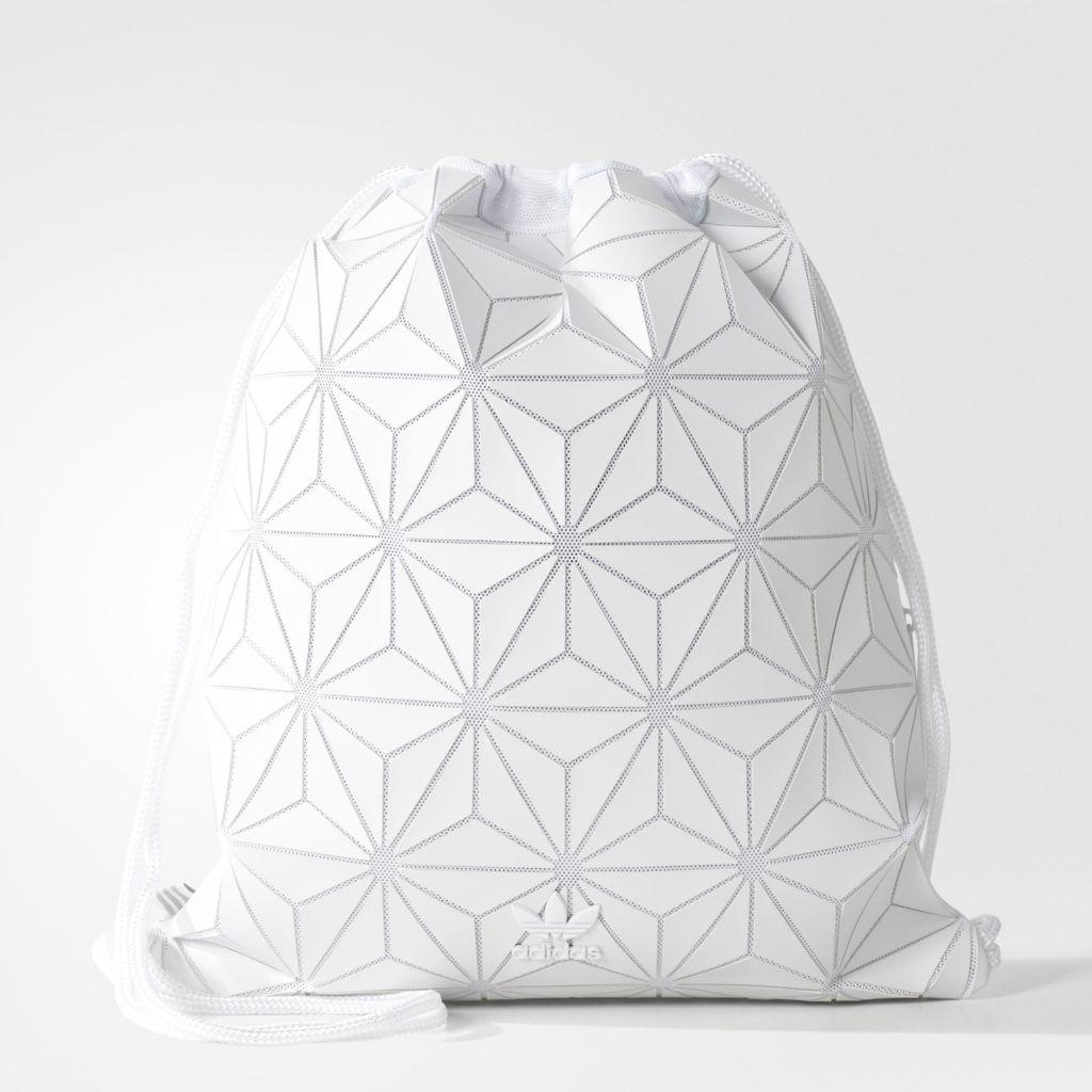 394fb8aa Adidas 3D mesh bags - white gym sack | Men fashion | Adidas backpack ...
