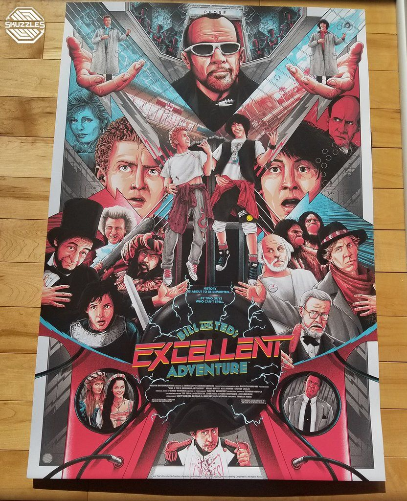 Bill Ted S Excellent Adventure By Matt Ryan Tobin Adventure Movie Matt Ryan Ted