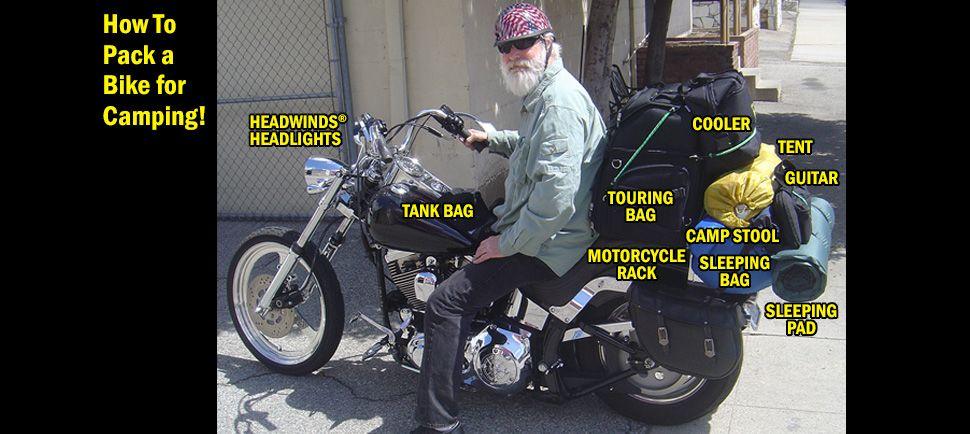 Moto Camp Motorcycle Camping Equipment Gear Motorcycle Camping