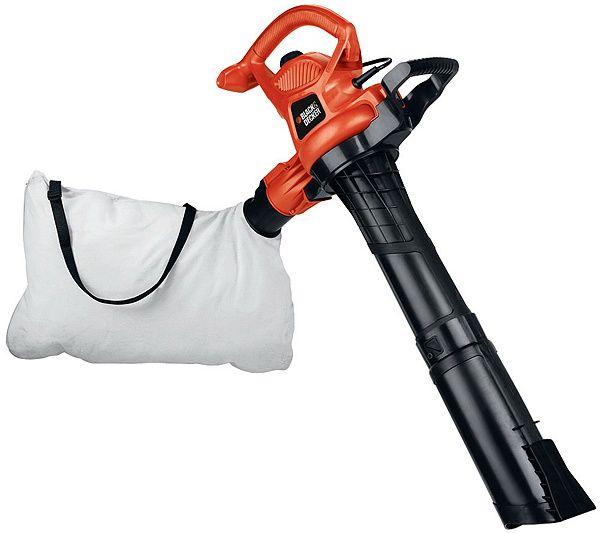 Black Decker 12 Amp Blower Vacuum Qvc Com Bags Of Mulch Leaf Blower Outdoor Power Equipment