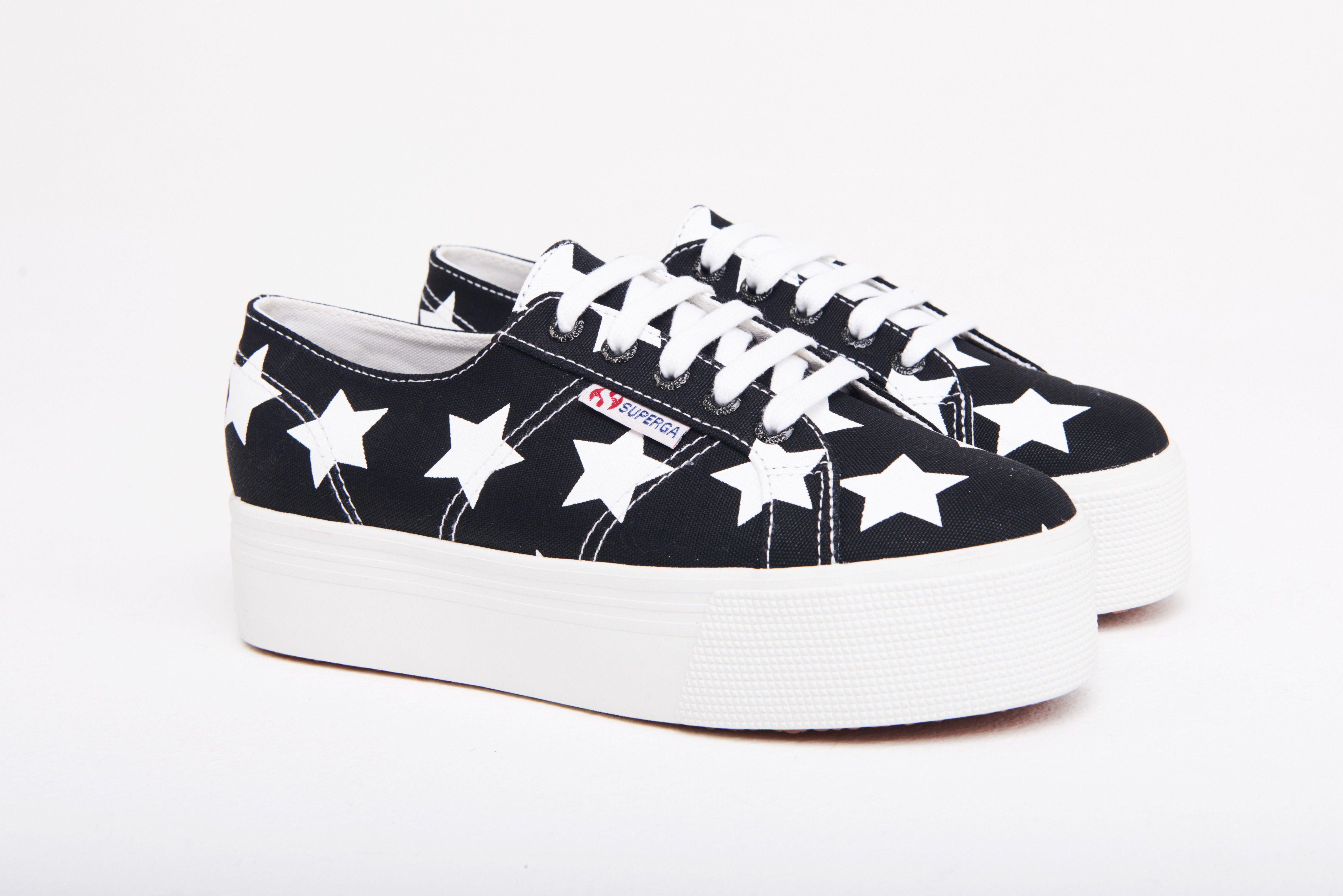 Navy White Stars | Schoenen, Schoenen