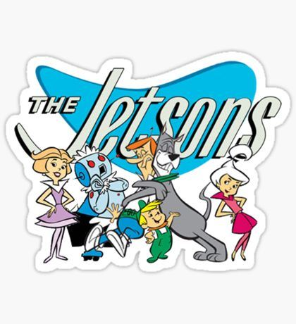 90s Stickers in 2020   Aesthetic stickers, The jetsons, Art