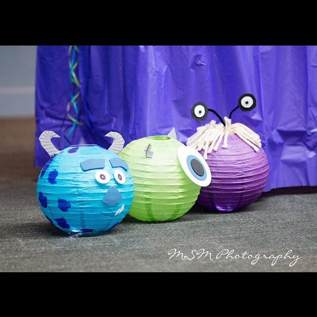 Minion Inspired Yellow Paper Lantern Decoration - One Eyed or Two Eyed