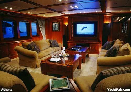 Mega Yachts Interior