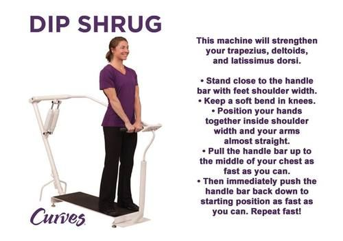 Do you want a strong upper body? Make the Dip Shrug ...