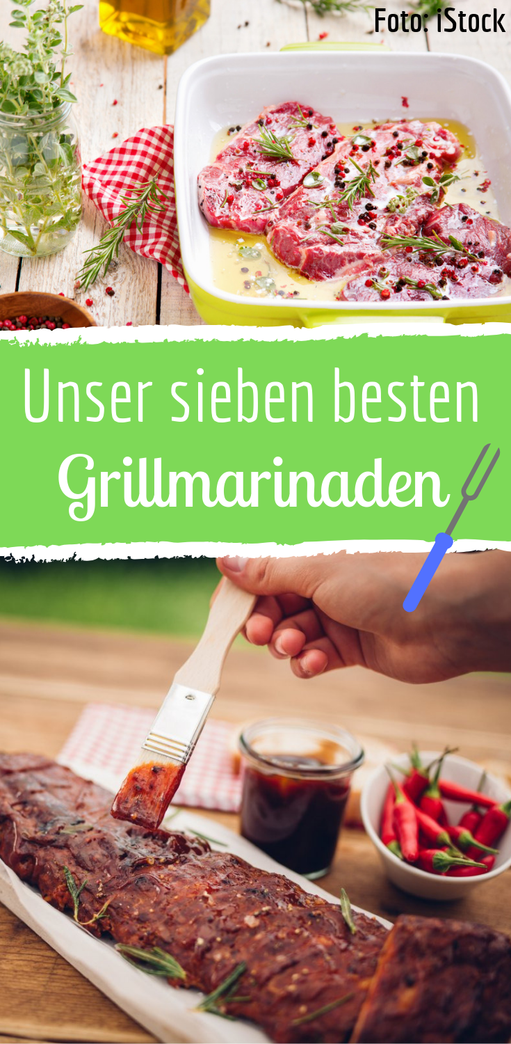 Grillmarinaden für Pute, Rind & Co: Unsere 7 Favoriten!
