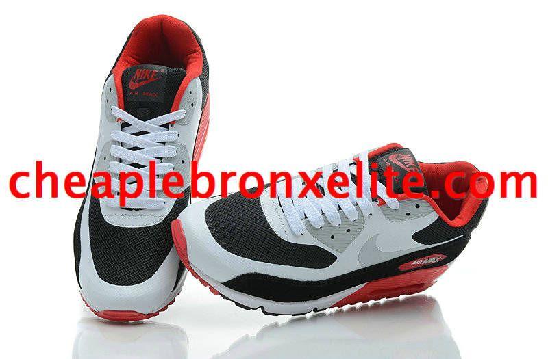 Nike Air Max 90 Pas Cher Blanc Chambres