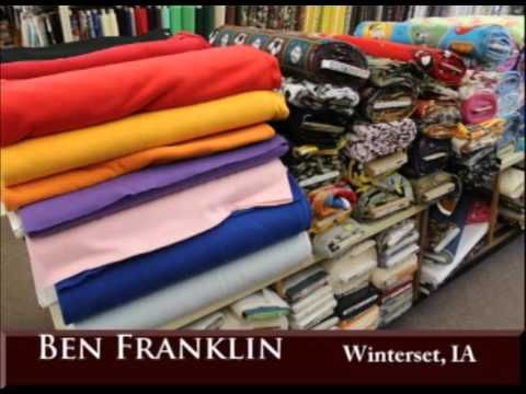 Winterset Iowa's Ben Franklin on Our Story's the Celebrities