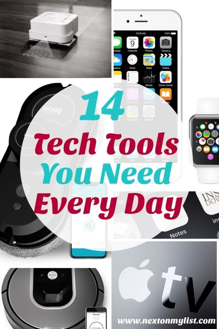 14 Tech Tools You'll Use Every Day