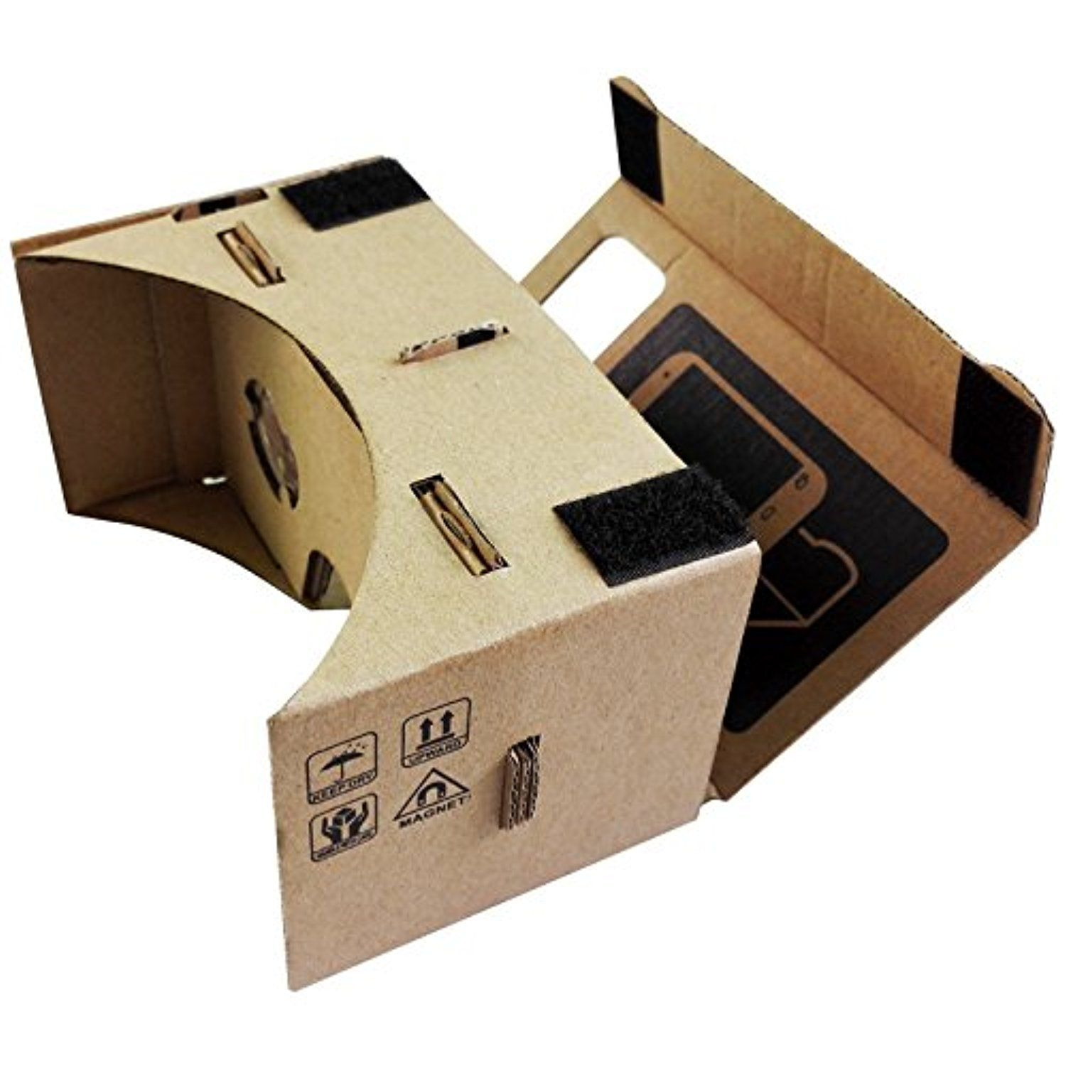 """FUMAT DIY Google VR 3D Glasses Magnet Google Cardboard Virtual Reality VR Mobile Phone 3D Viewing Glasses For 3.5""""-6"""" Screen -- Awesome products selected by Anna Churchill"""