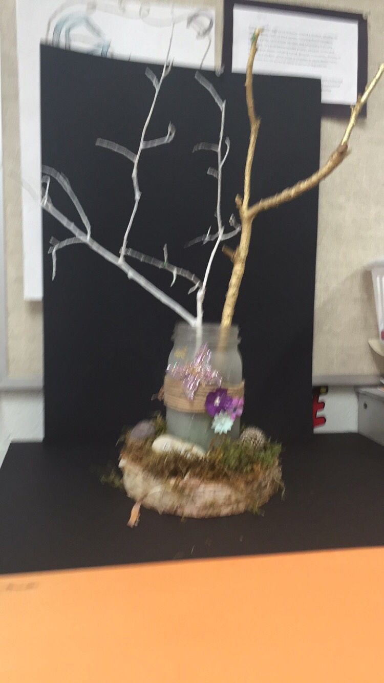 Enchanted forest center piece enchanted forest prom ideas pinterest