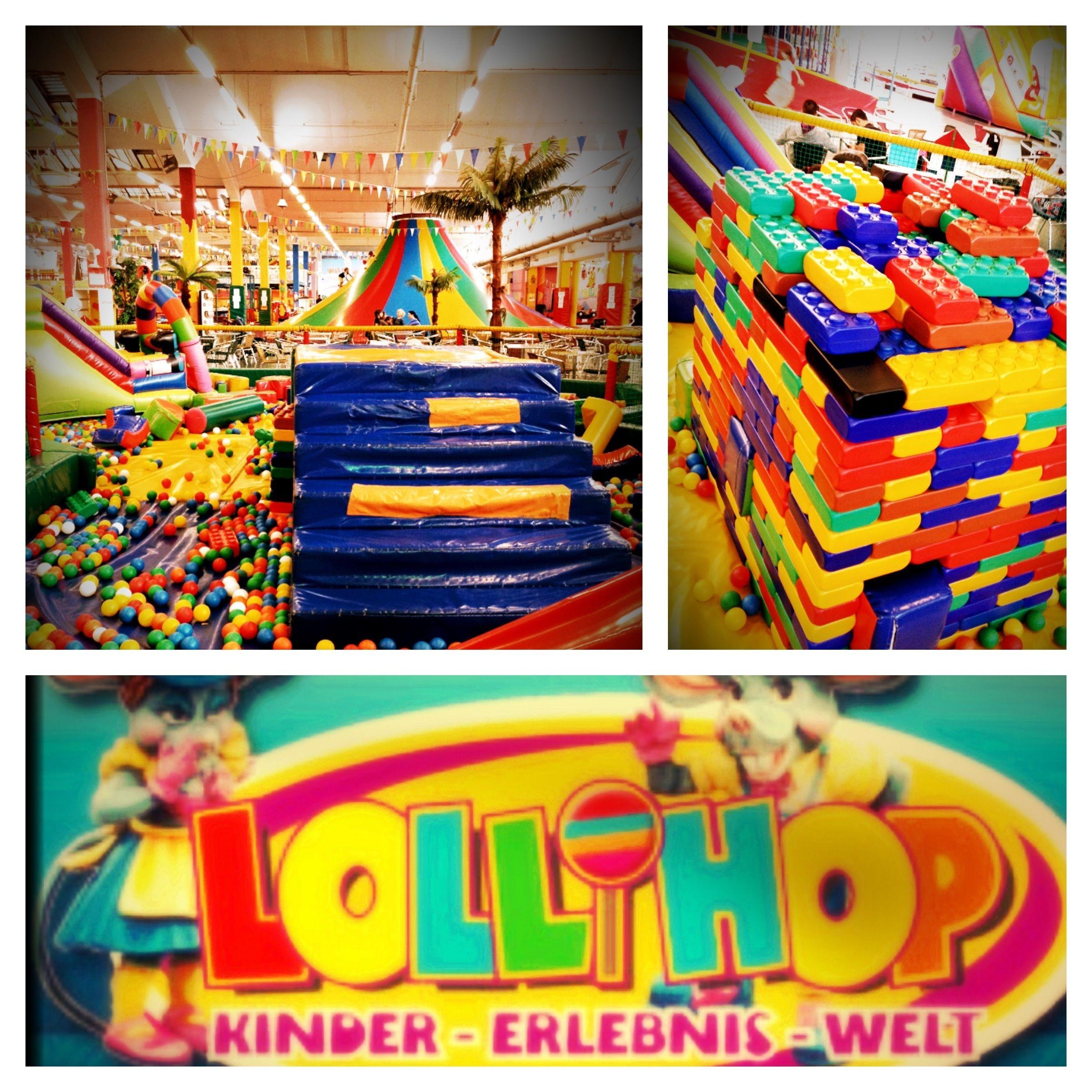 Lollihop Indoorspielplatz, perfektes Ausflugsziel bei schlechtem Wetter.
