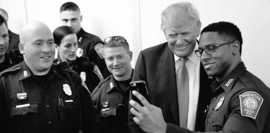 President-elect Trump and our Police Officers will be working together again after an anti-Cop President. LawEnforcementAppreciationDay