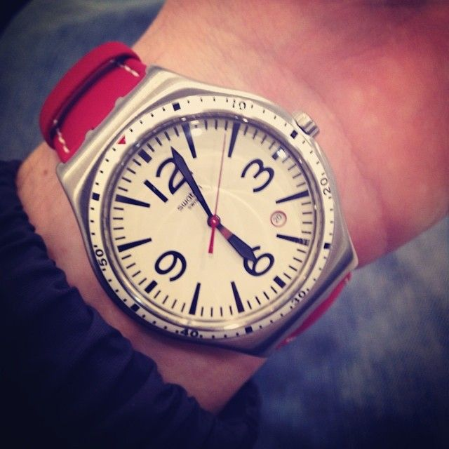 #Swatch CATERHRED http://swat.ch/1nYzhRk