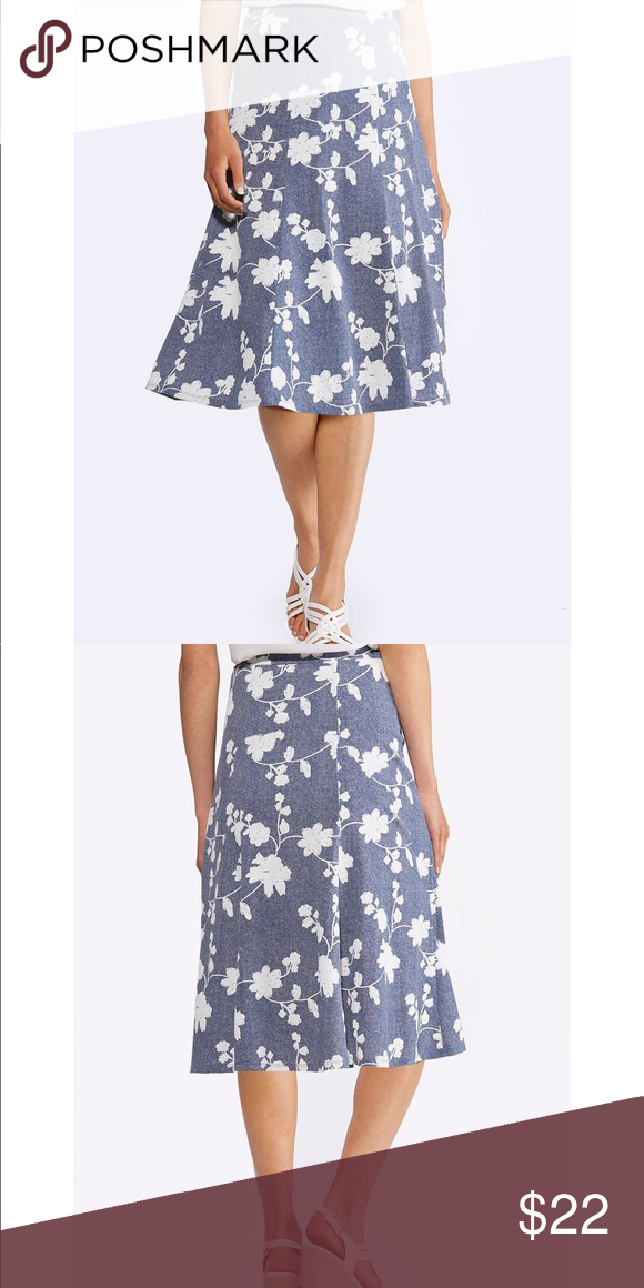 67d3b6c9ad Floral Puffed Print Skirt Plus size floral puff print skirt. 👗🛍Featuring  a delicate