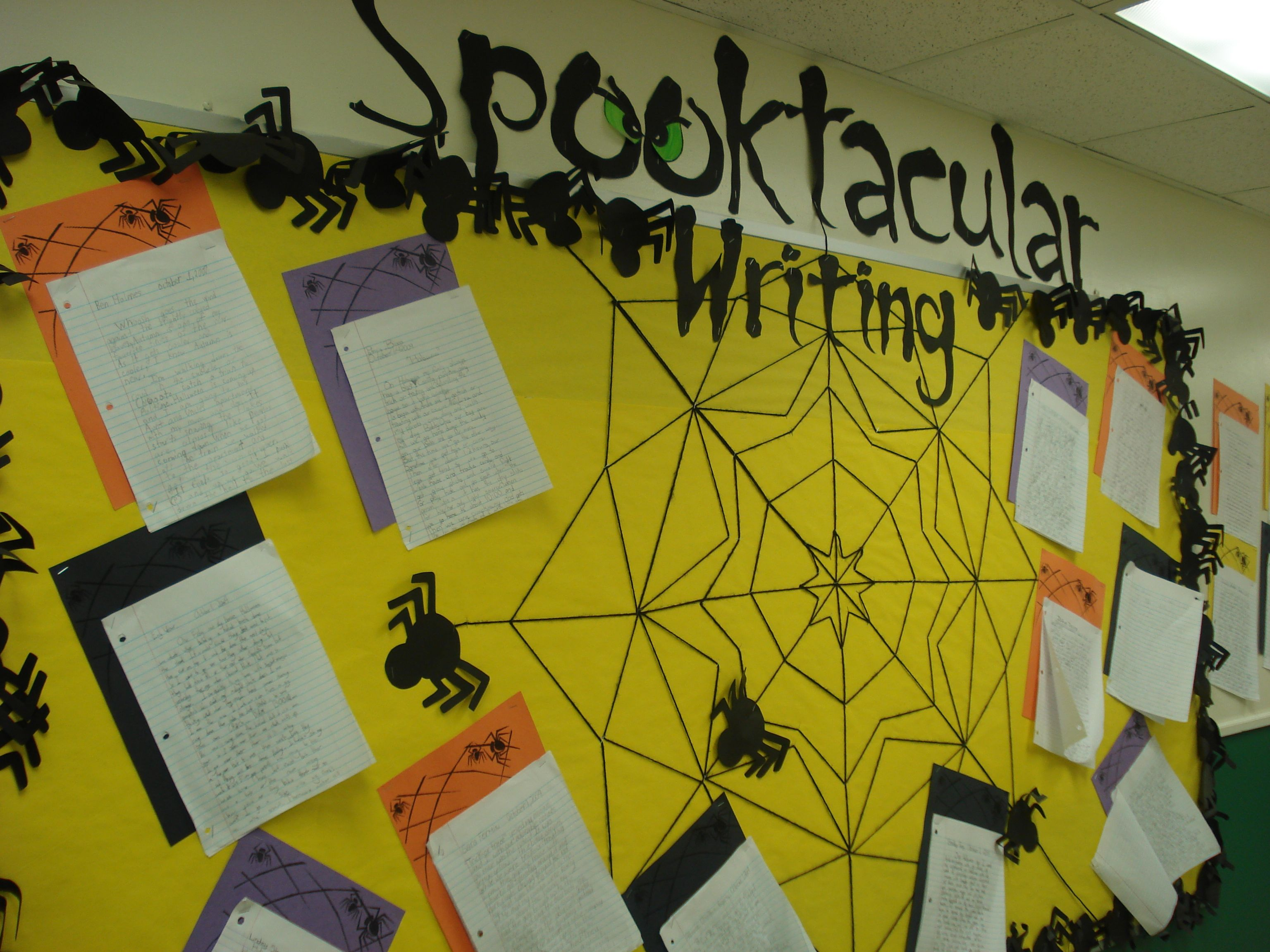halloween writing bulletin board bulletin board ideas halloween writing bulletin board kelly teske goldsworthy frazier s we have to do this the scary stories