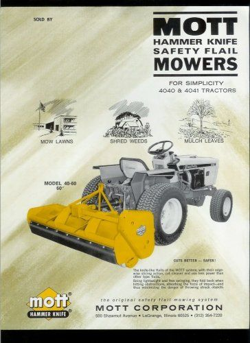 Pin by Simple trACtors, LLC on Simplicity Lawn & Garden Tractors