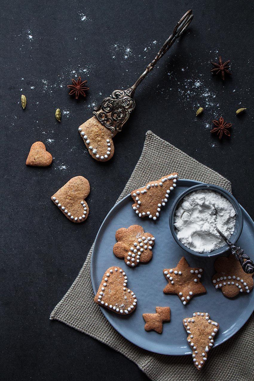 Glutenfreies Weihnachtsgebäck.Schwedische Pfefferkuchen