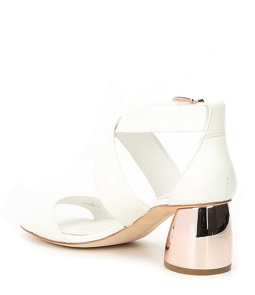 85af587d760 Antonio Melani Katrinna Leather Block Heel Dress Heels | Women's ...