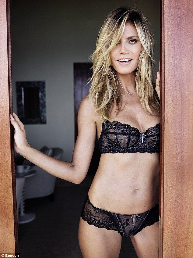 Angel  Heidi Klum has shown just why she s regarded as one of the world s  most beautiful women in a new photoshoot for her own lingerie label 38002e047