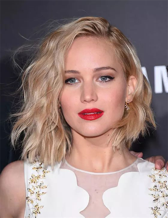 20+ Medium-Length Hairstyles for Thin Hair   Chic Academic in 2020   Bob hairstyles for round ...