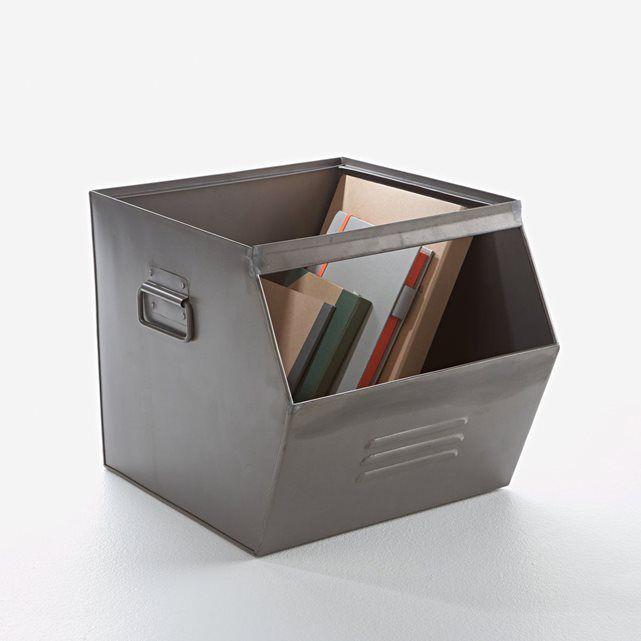 casier empilable en metal hiba metal