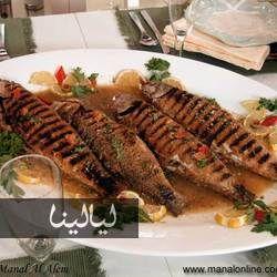 سمك مشوي من مطبخ منال العالم Recipes Seafood Recipes Food