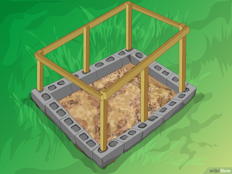 How To Build A Mortarless Concrete Stem Wall 15 Steps Concrete Block Walls Cinder Block Walls Building A Deck