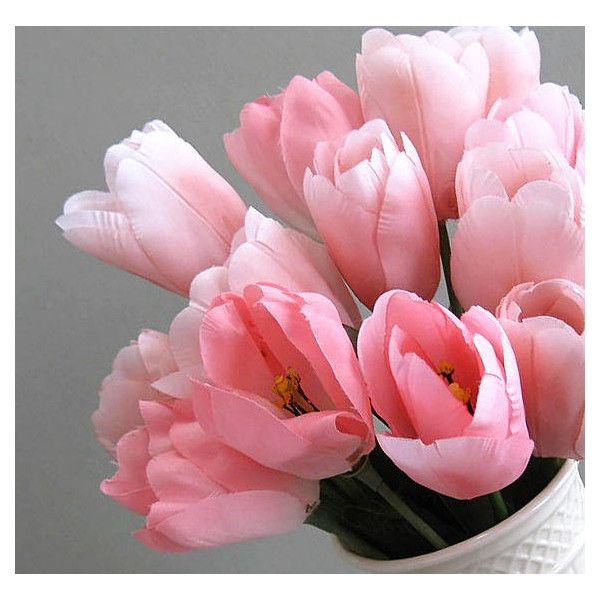 Tulip flower 2 pink flowers artificial flower supplies silk flower tulip flower 2 pink flowers artificial flower supplies silk flower 6 mightylinksfo