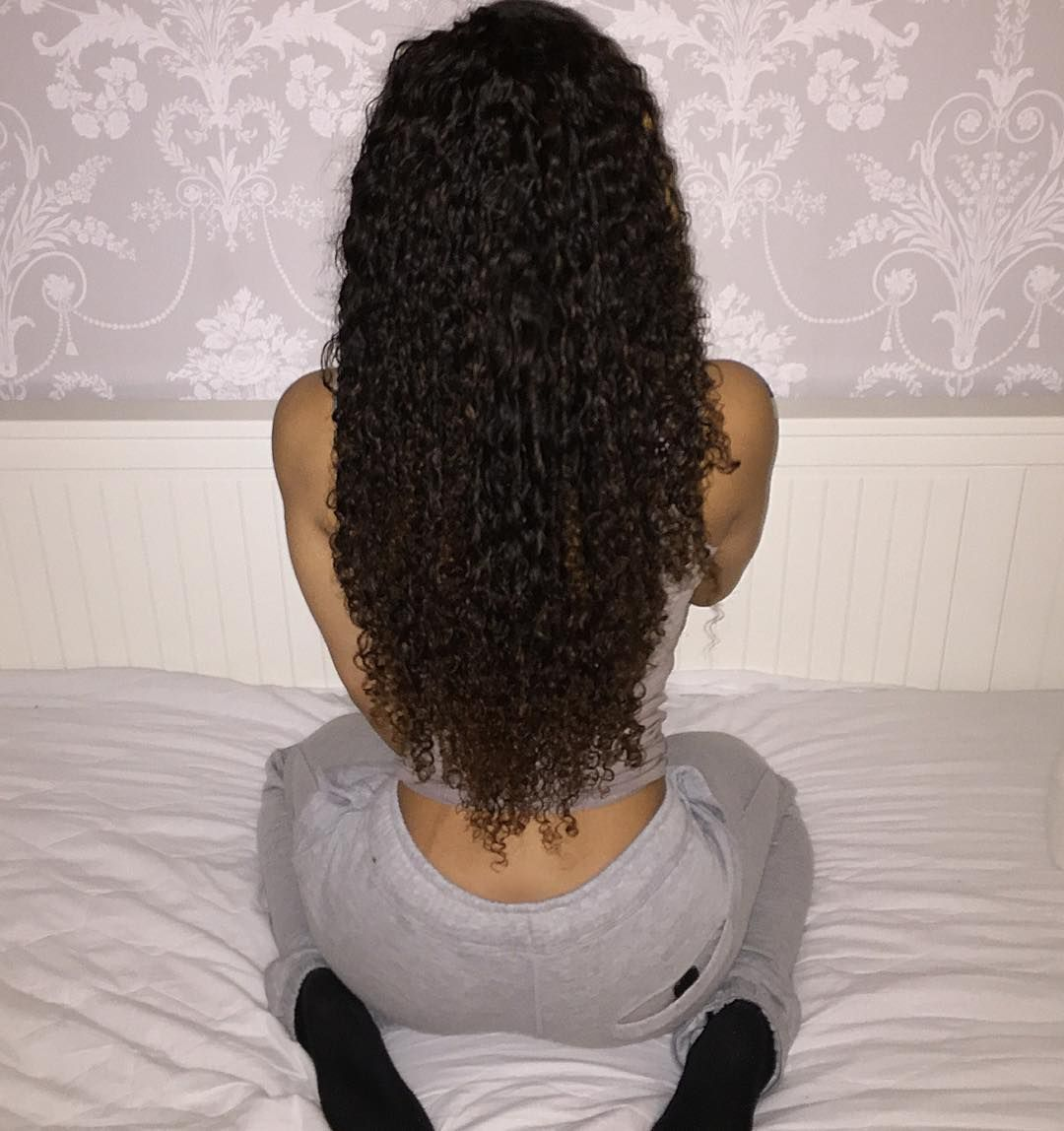 """@diamondvirginhair Got me feeling some typa way,loving my Brazillian Mink Curly hair!"""