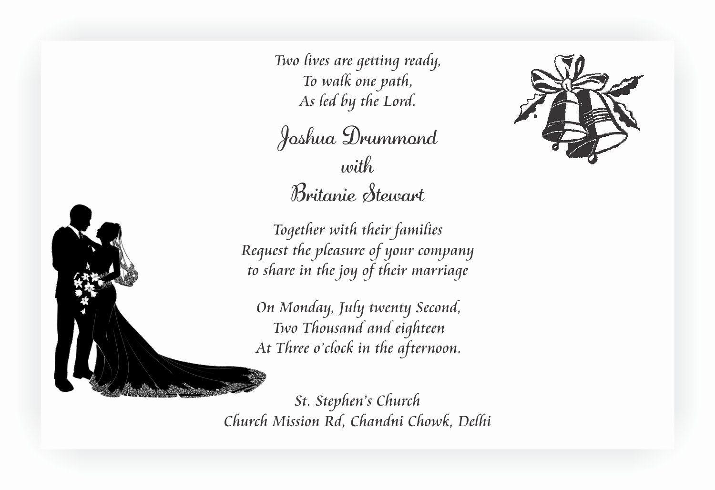 Christian Wedding Invitation Wording Best Of Christian Wedding Invit Christian Wedding Cards Christian Wedding Invitation Wording Christian Wedding Invitations