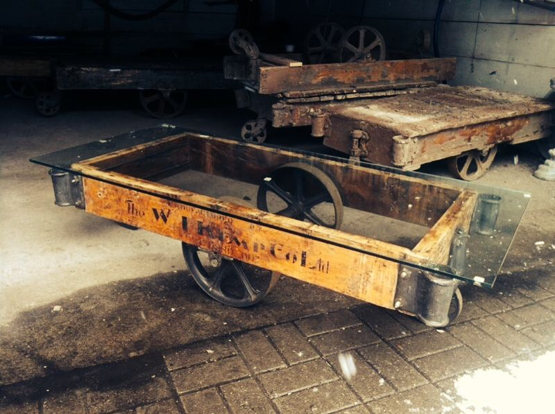 W I Kemp Co Ltd Stratford Ontario Canada Factory Cart Cart
