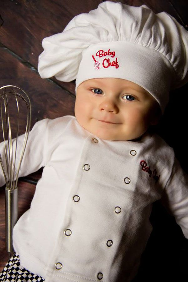 8bea65b4f5b Baby chef 3-piece chef outfit
