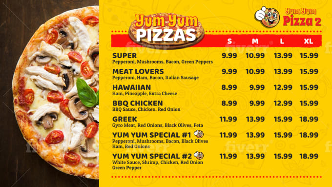 Design Digital Screen Food Menu Tv Board For Your Restaurant By Tjperkasa In 2020 Food Food Menu Delicious Pizza In this 4th installation of greek recipes, i close it out with a bang. design digital screen food menu tv