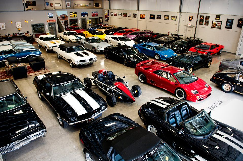 Who Took A Picture Of My Garage With Images Luxury Car Garage