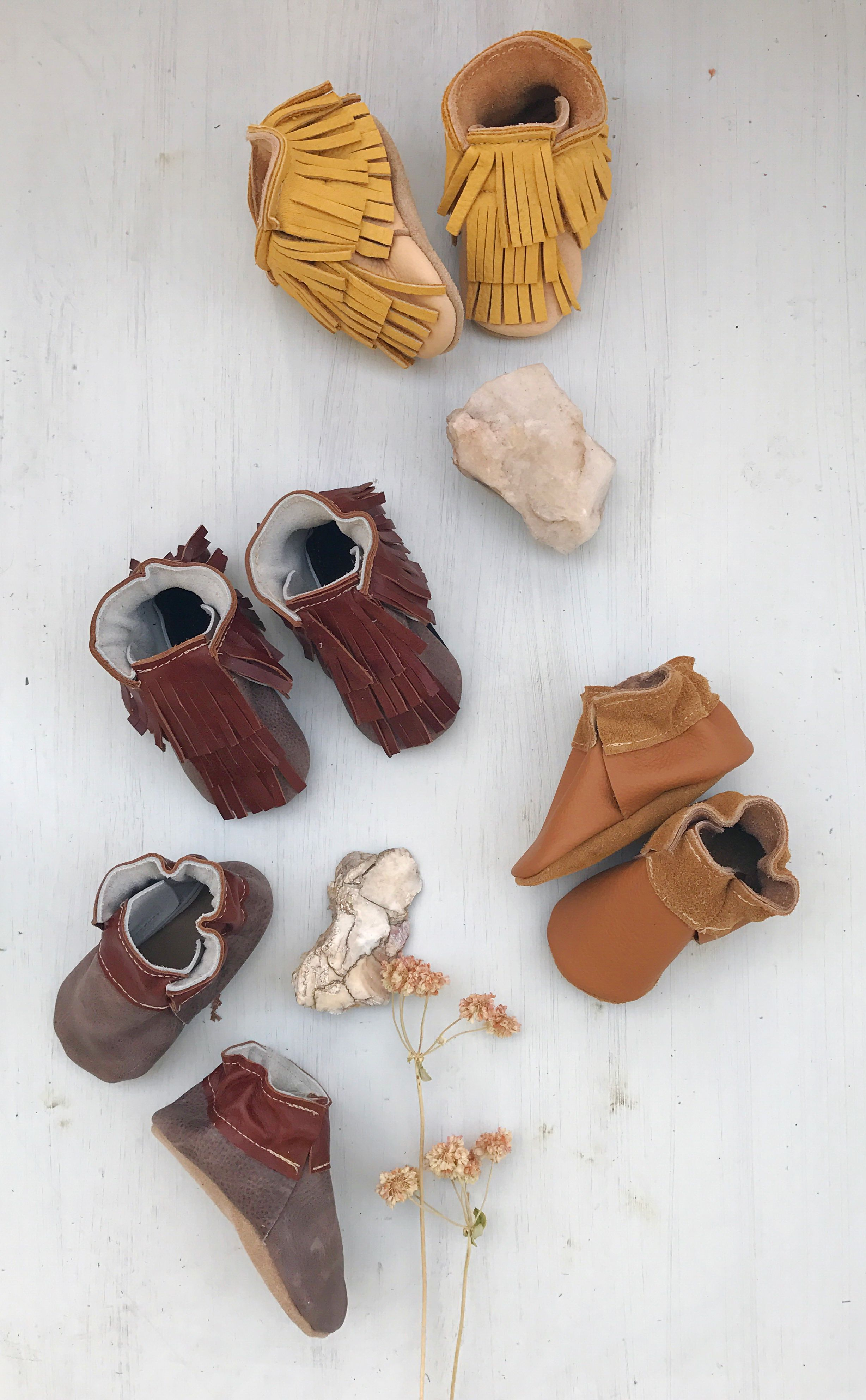 Can't wait to put these on baby!! sweetest little starry knight design baby Fringe boots