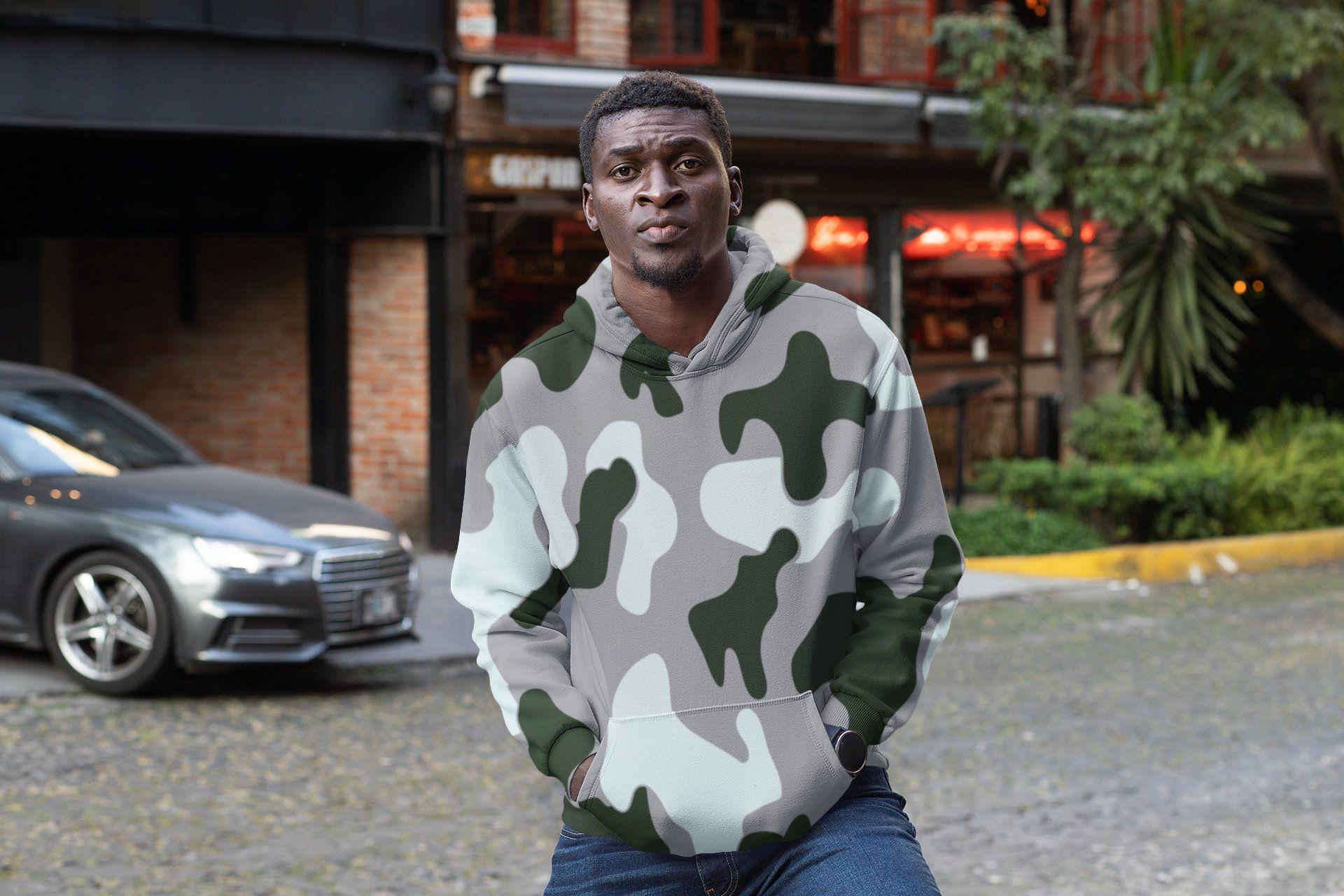 Sweater Camo Hoodie Outdoor