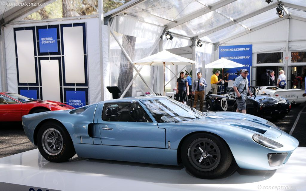 Auction Results And Sales Data For 1966 Ford Gt40 Ford Gt40