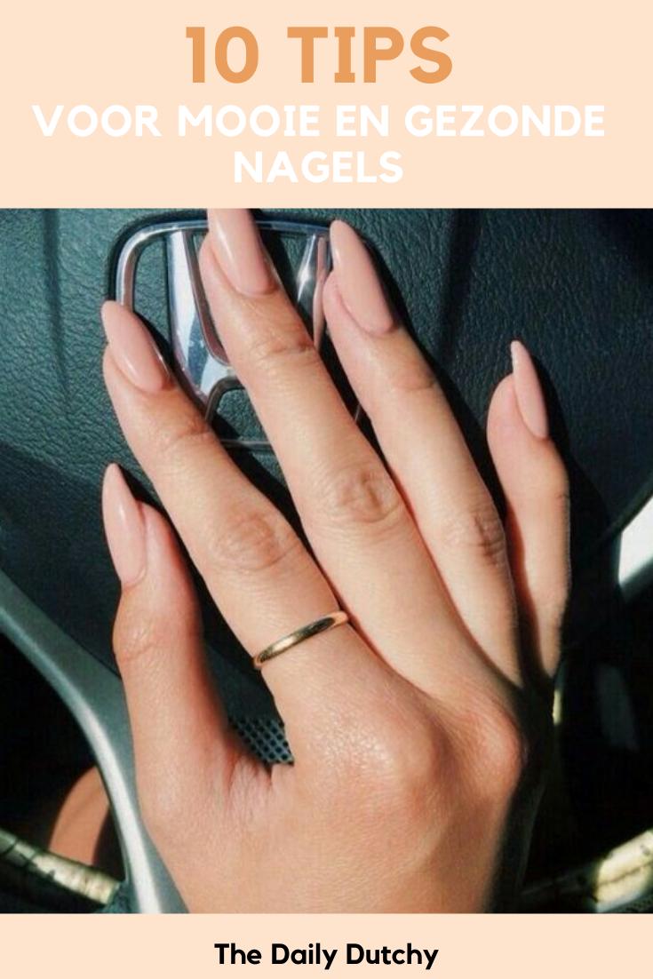 Tien tips voor mooie en gezonde nagels