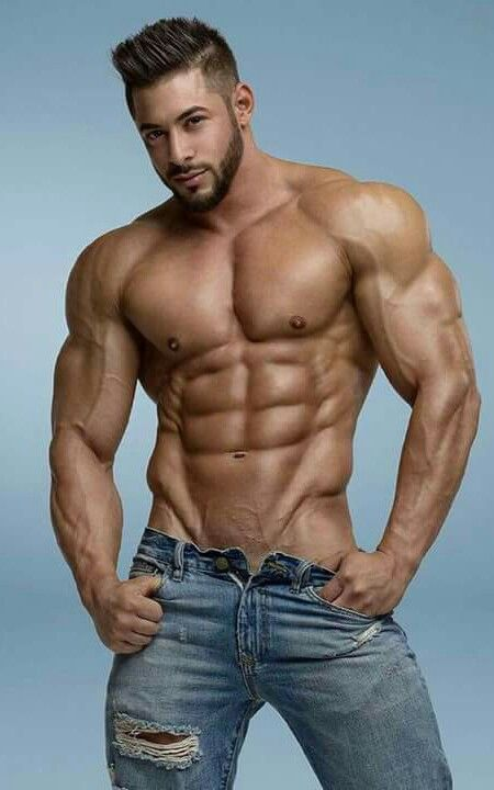 Really. hunks showing their package